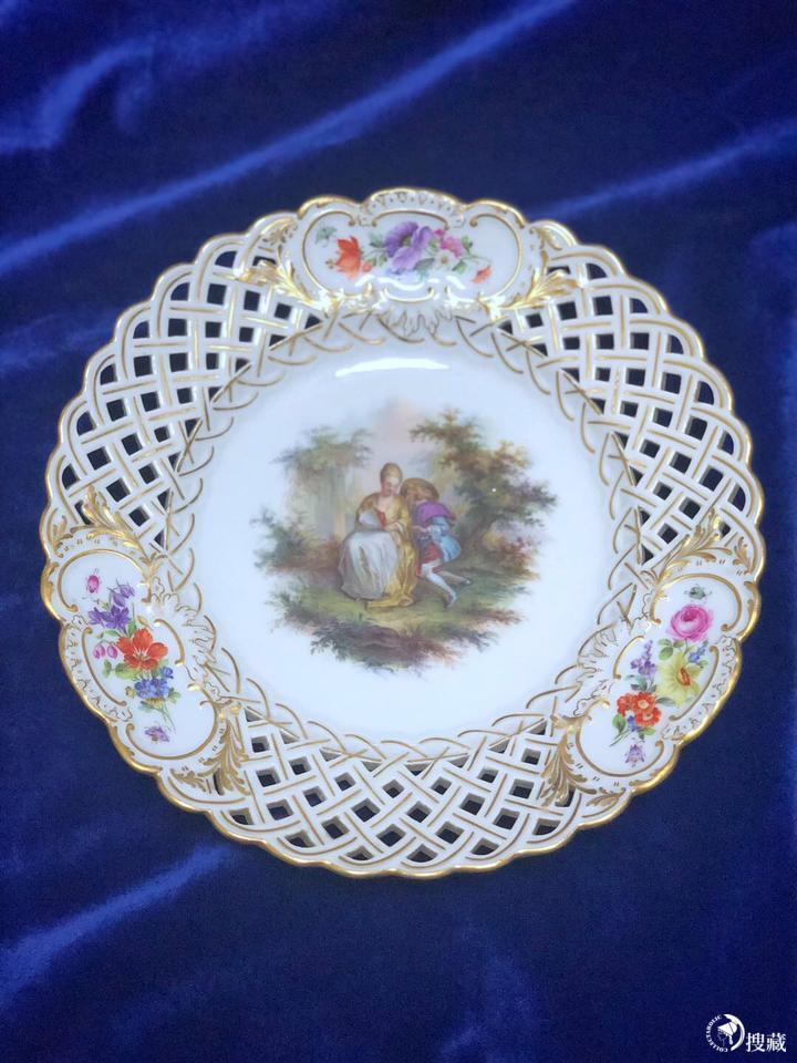 分享一些梅森watteau华托人物系列-中国梅森瓷器|迈森瓷器|Meissen瓷器